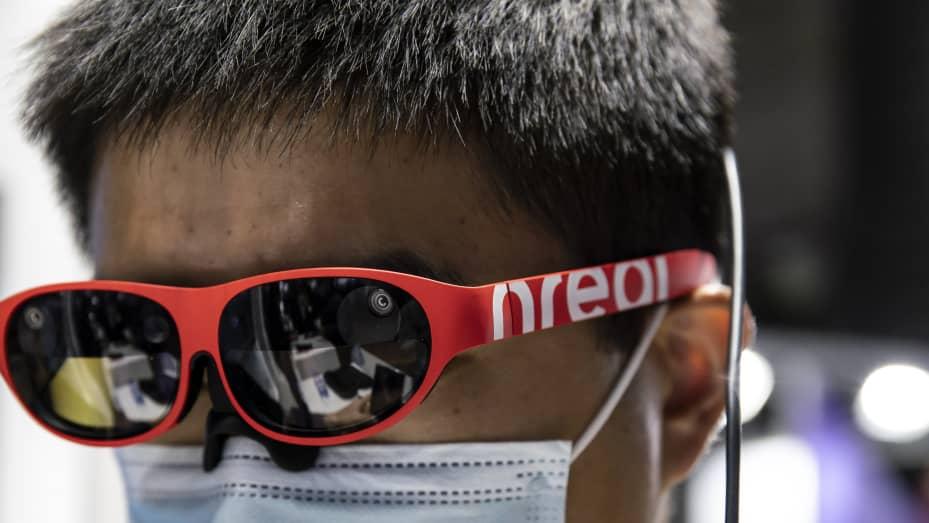 Nreal Light mixed reality glasses
