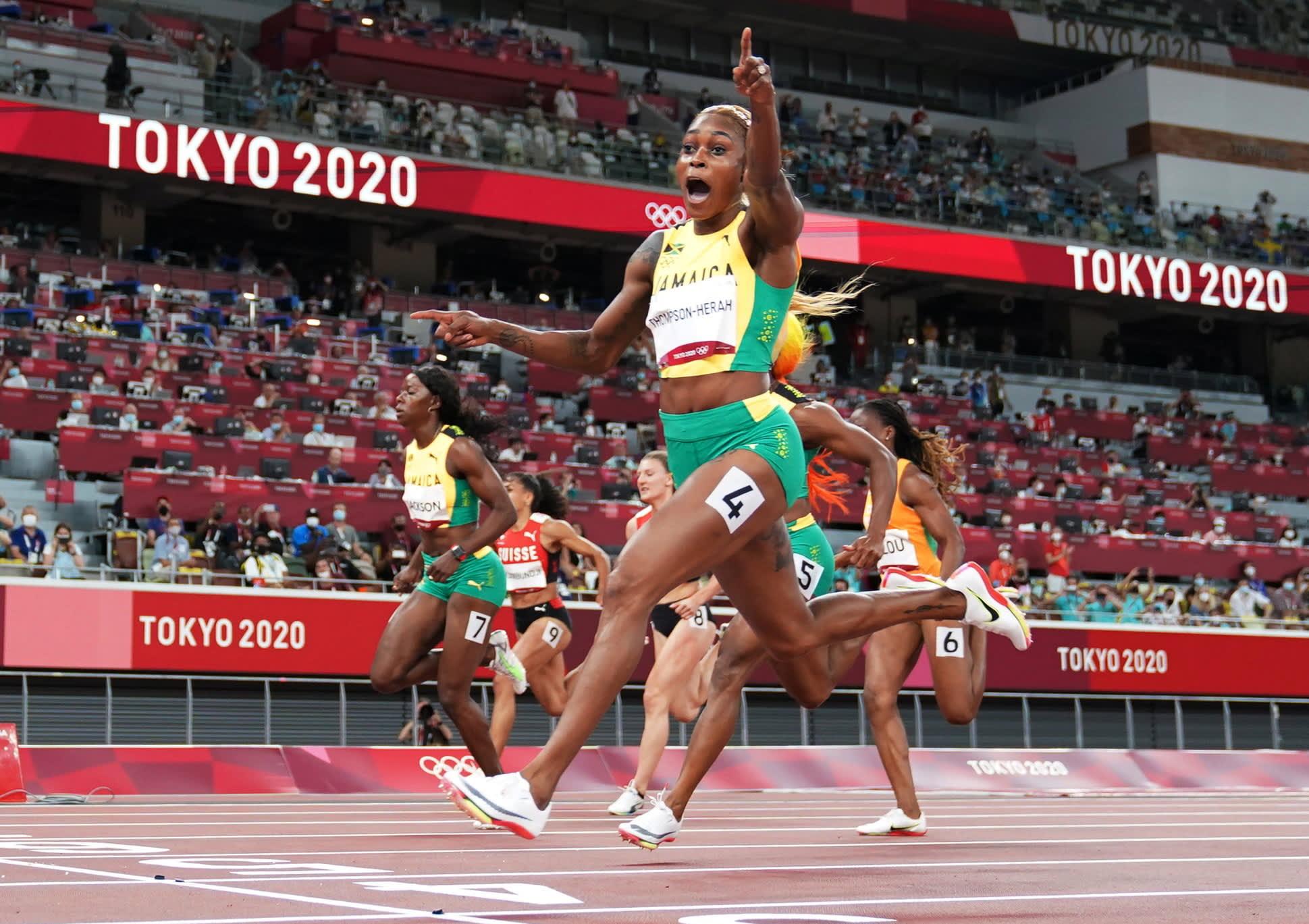 106920095 16277637702021 07 31t150412z 127582646 sp1eh7v0zxm1d rtrmadp 0 olympics 2020 ath w 100m fnl