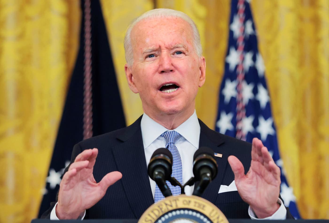 Watch live: Biden speaks after investigators find NY Gov. Andrew Cuomo sexually harassed women