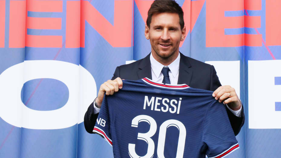 Lionel Messi is being partly paid in crypto by PSG