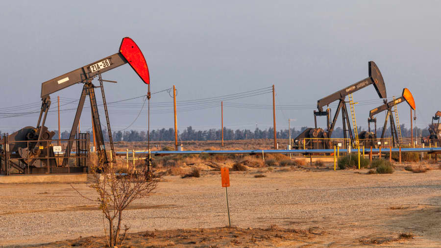 Jim Cramer warns that the stock market could be 'toast' if oil prices keep climbing