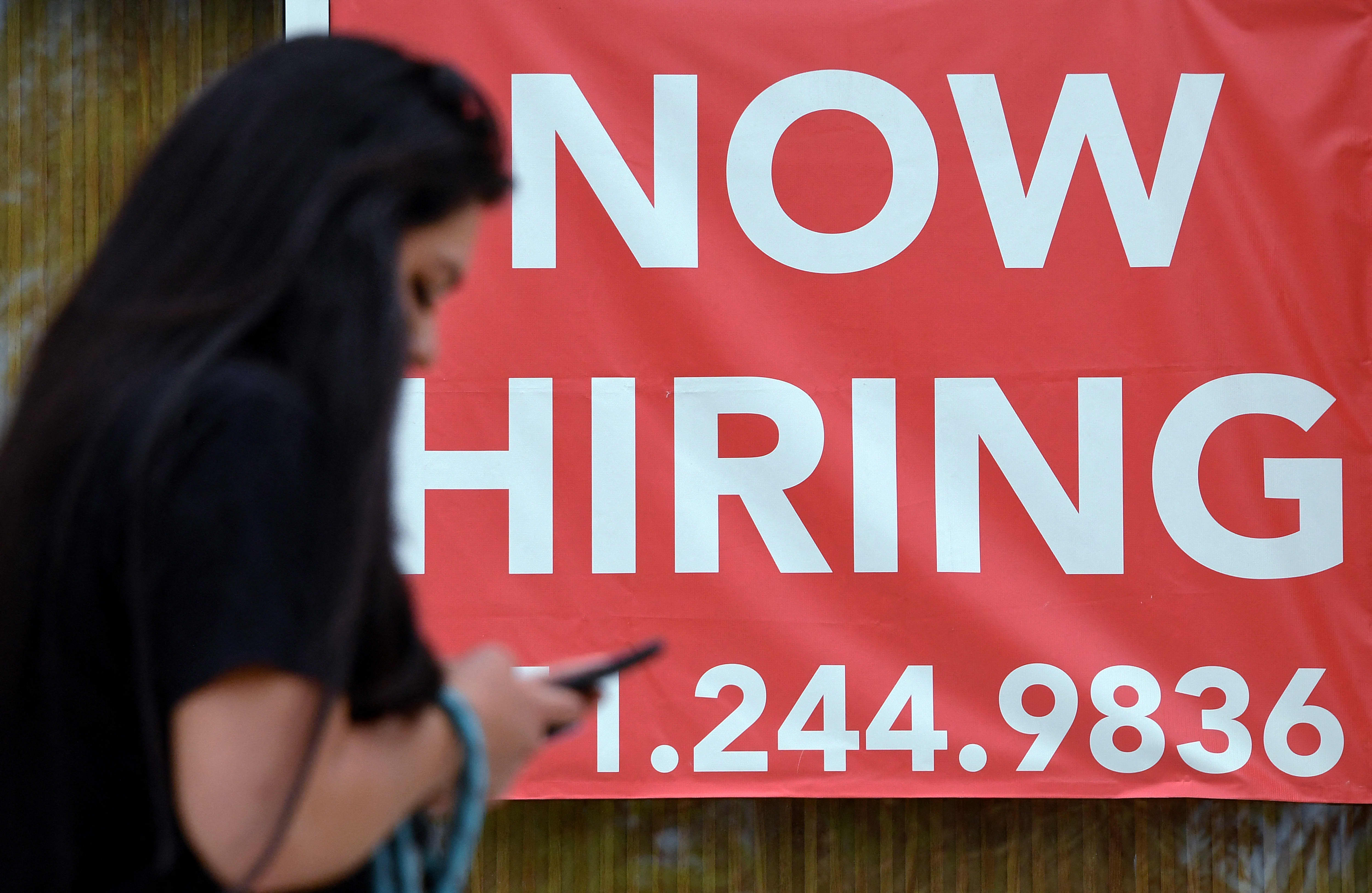 Jobless claims hit new pandemic-era low in a sign of hope for the employment picture