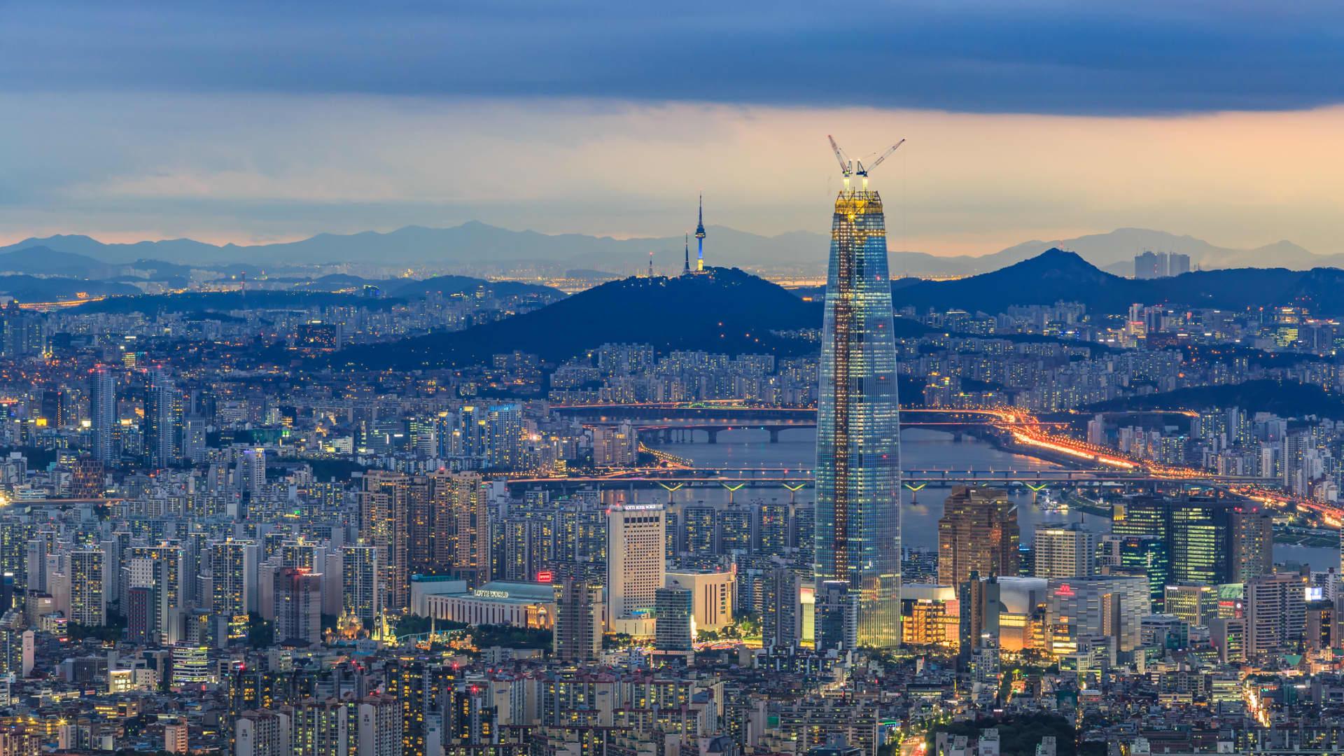The Han River runs through the heart of South Korea's capital, Seoul.