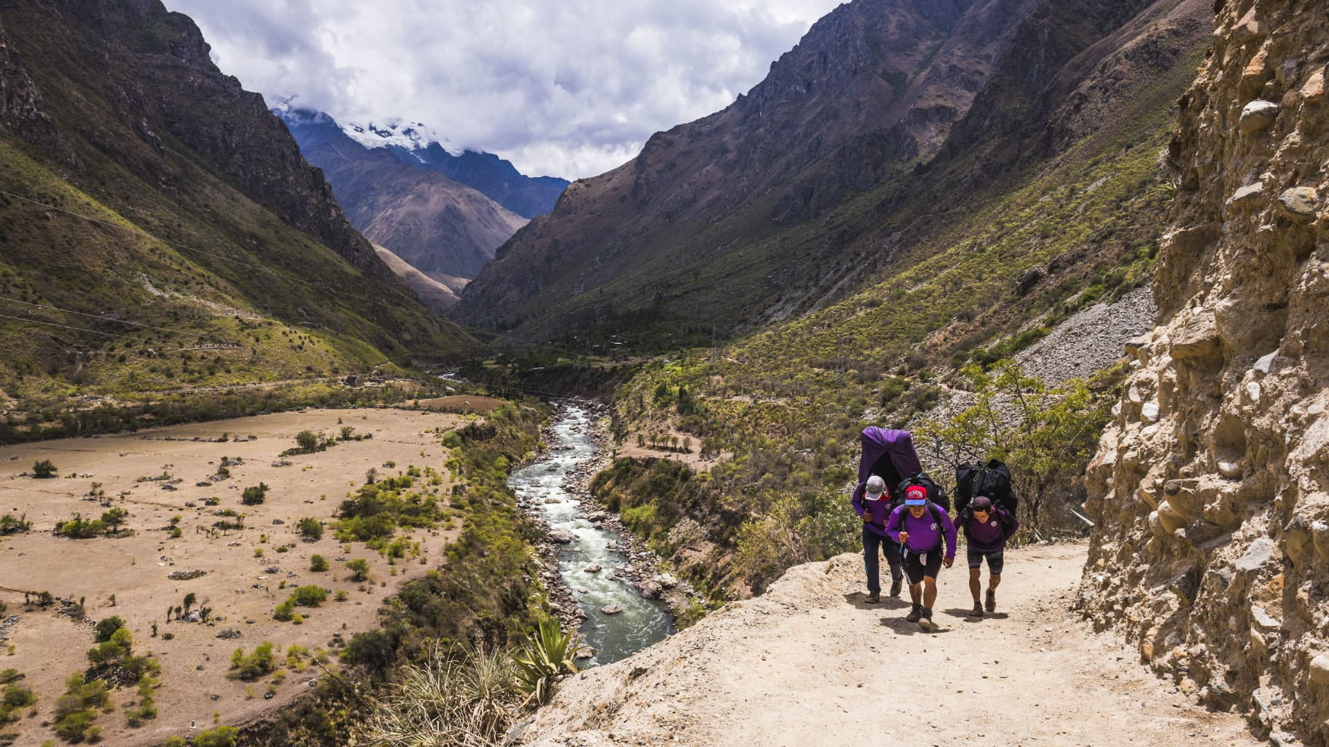 Like visitors to Machu Picchu, the number of hikers on the Inca Trail have also been restricted.