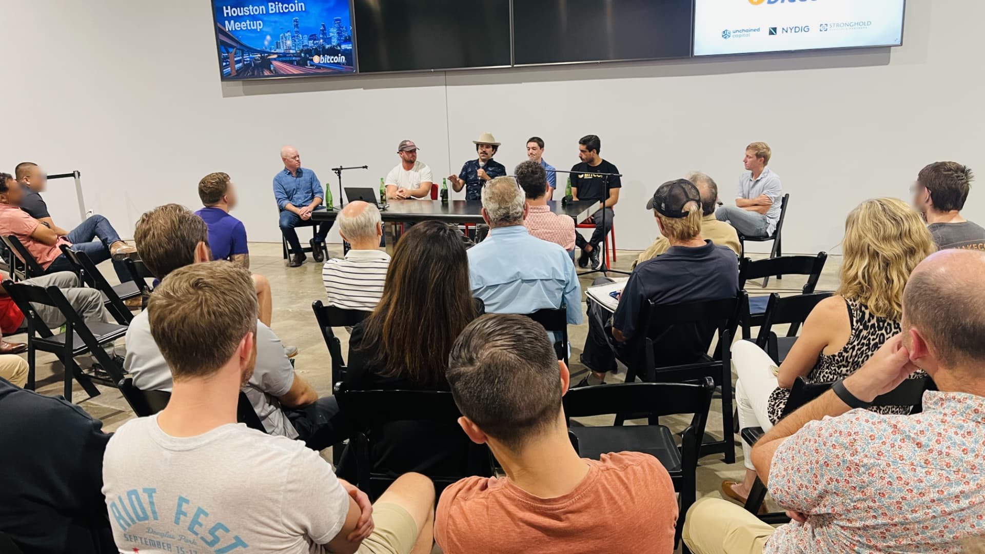 A panel of bitcoin miners and oil & gas execs share what it's like to mine bitcoin in Texas.