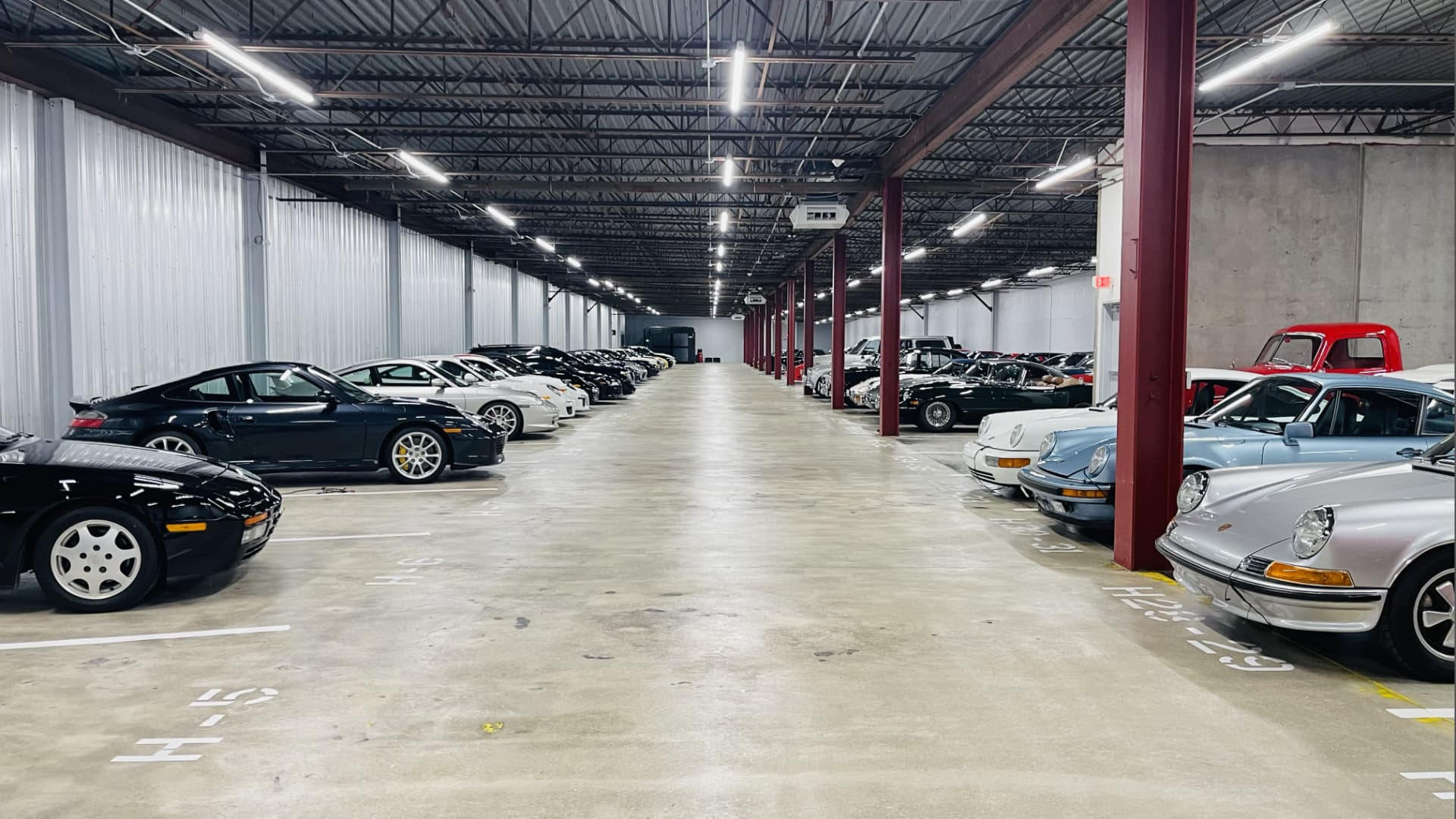 An underground meetup of bitcoin miners and oil & gas execs was held at a 150,000 square-foot warehouse safeguarding high-end vintage cars.