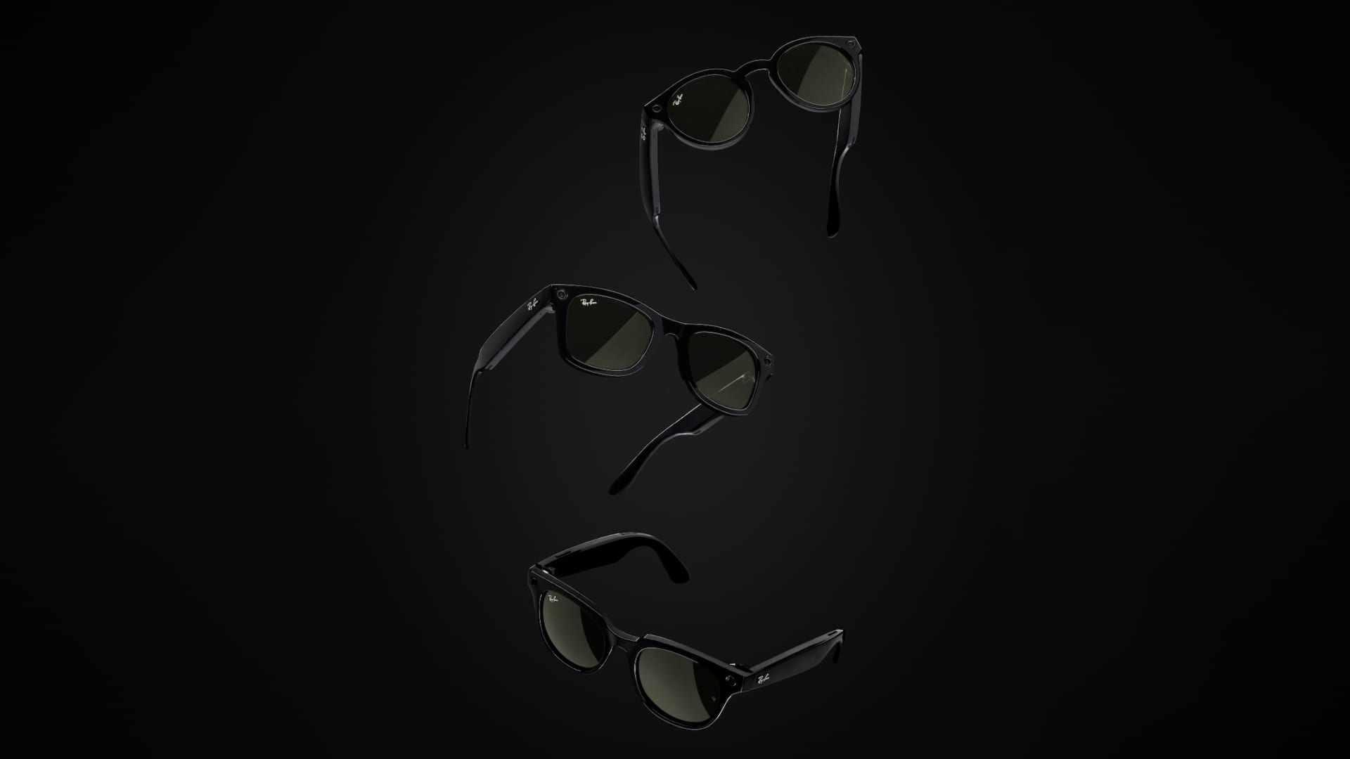 The Ray Ban Stories glasses, which start at $299, come equipped with Facebook technology that allows users to take photos and record videos with voice commands or by pressing a button on the right temple of the glasses.