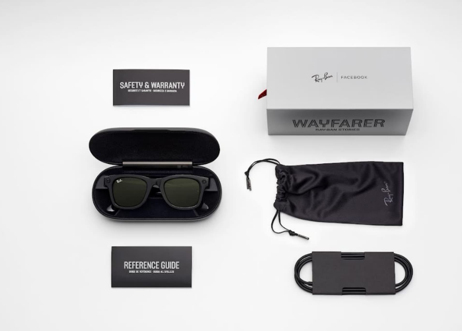 Facebook Ray-Ban Stories glasses