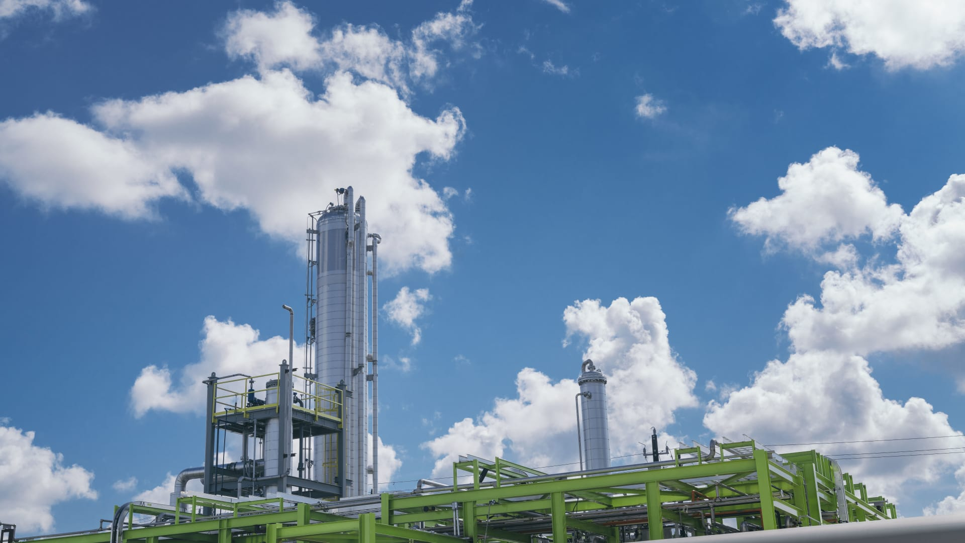 Solugen established its first sustainable chemicals factory in Stafford, Texas. The company took over a property where a petroleum wax distillery exploded in 2005.