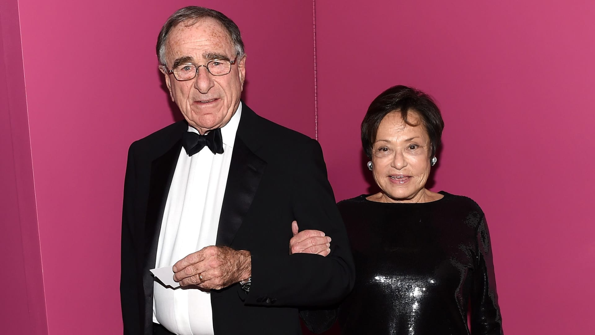 Harry Macklowe and Linda Macklowe attend the 2015 Guggenheim International Gala Dinner made possible by Dior at Solomon R. Guggenheim Museum on November 5, 2015 in New York City.