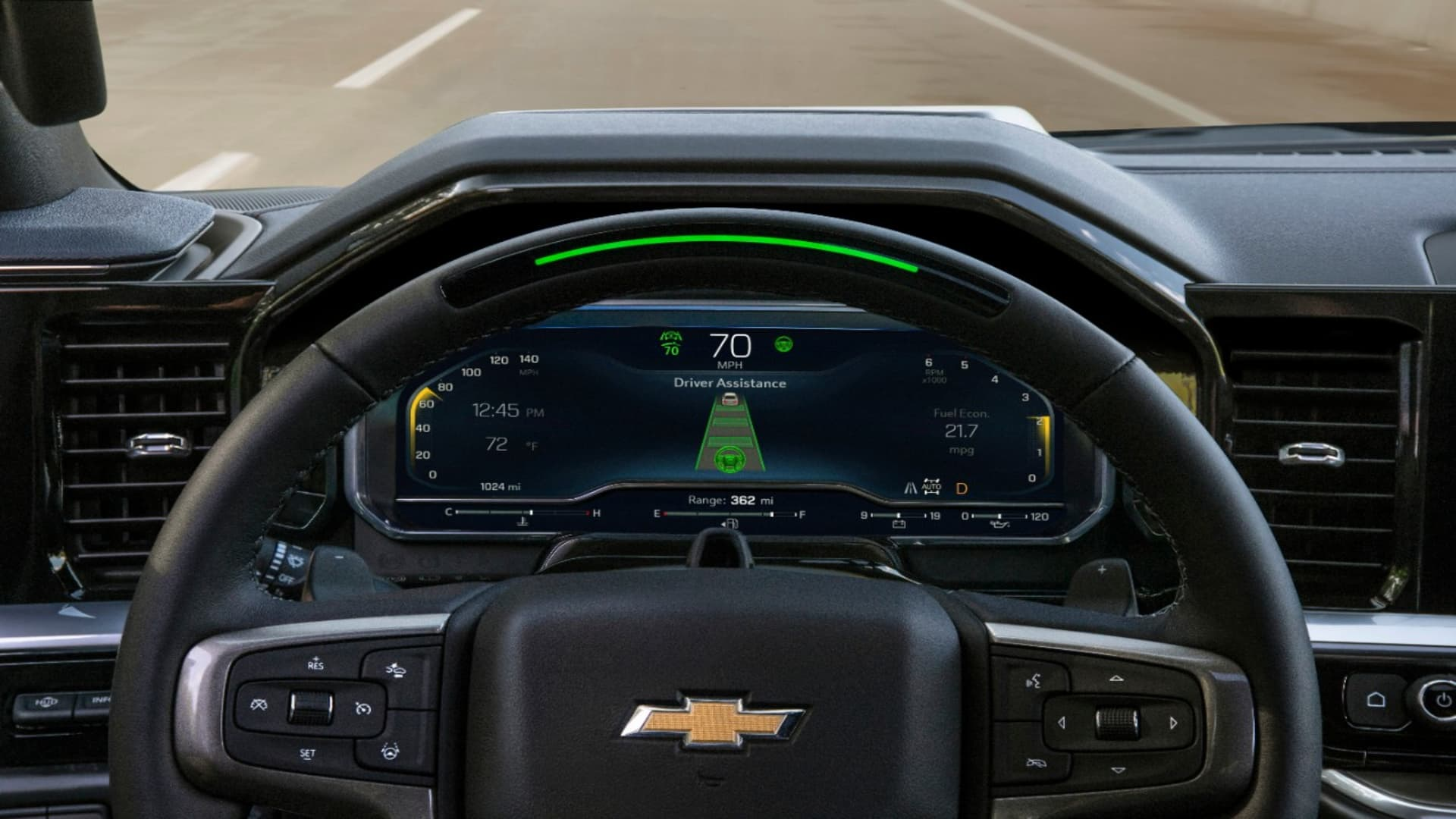 The 2022 Chevrolet Silverado High Country will offer GM's Super Cruise hands-free highway driving system.