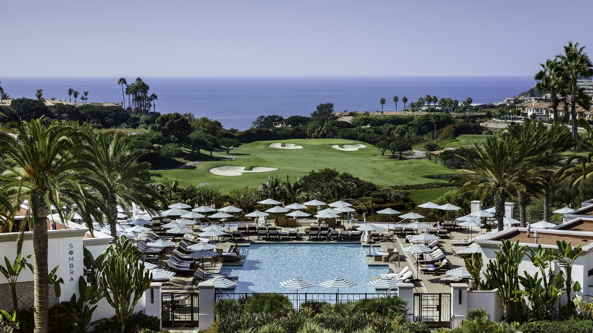 December bookings at high-end hotels, like the Waldorf Astoria Monarch Beach in Dana Point, California, will likely sell out sooner than they did in 2019, according to owner Ohana Real Estate Investors.