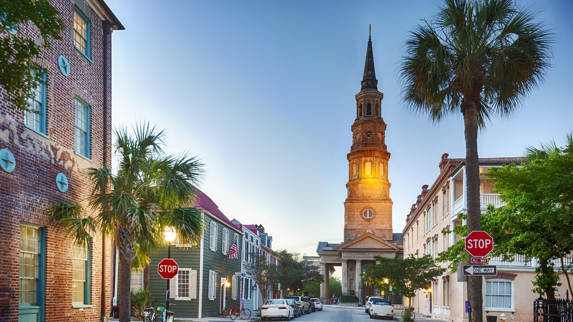Charleston, South Carolina, was named No. 1 U.S. destination for 2021 by Travel + Leisure magazine.