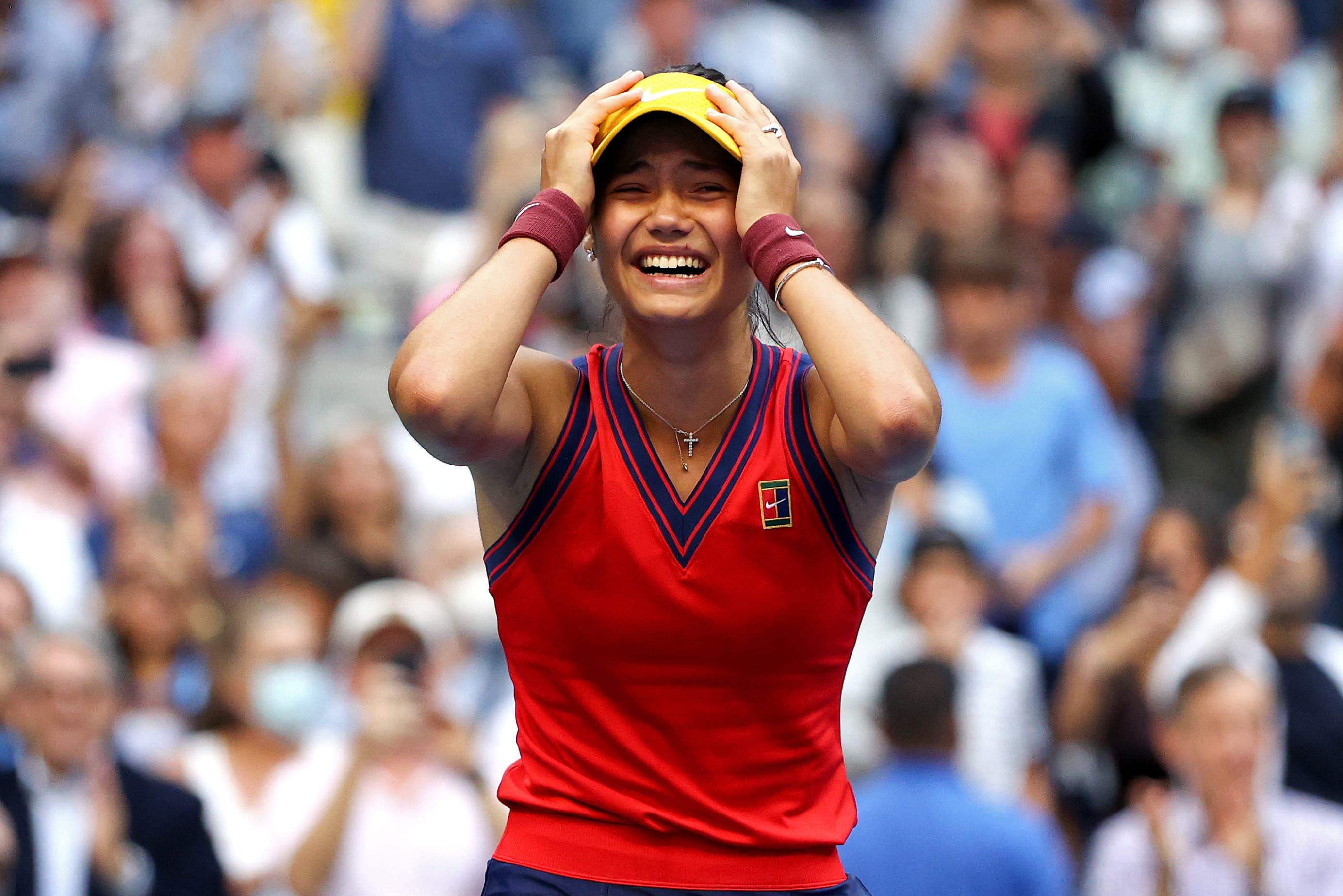 , British tennis player Emma Raducanu wins U.S. Open women's final, The World Live Breaking News Coverage & Updates IN ENGLISH
