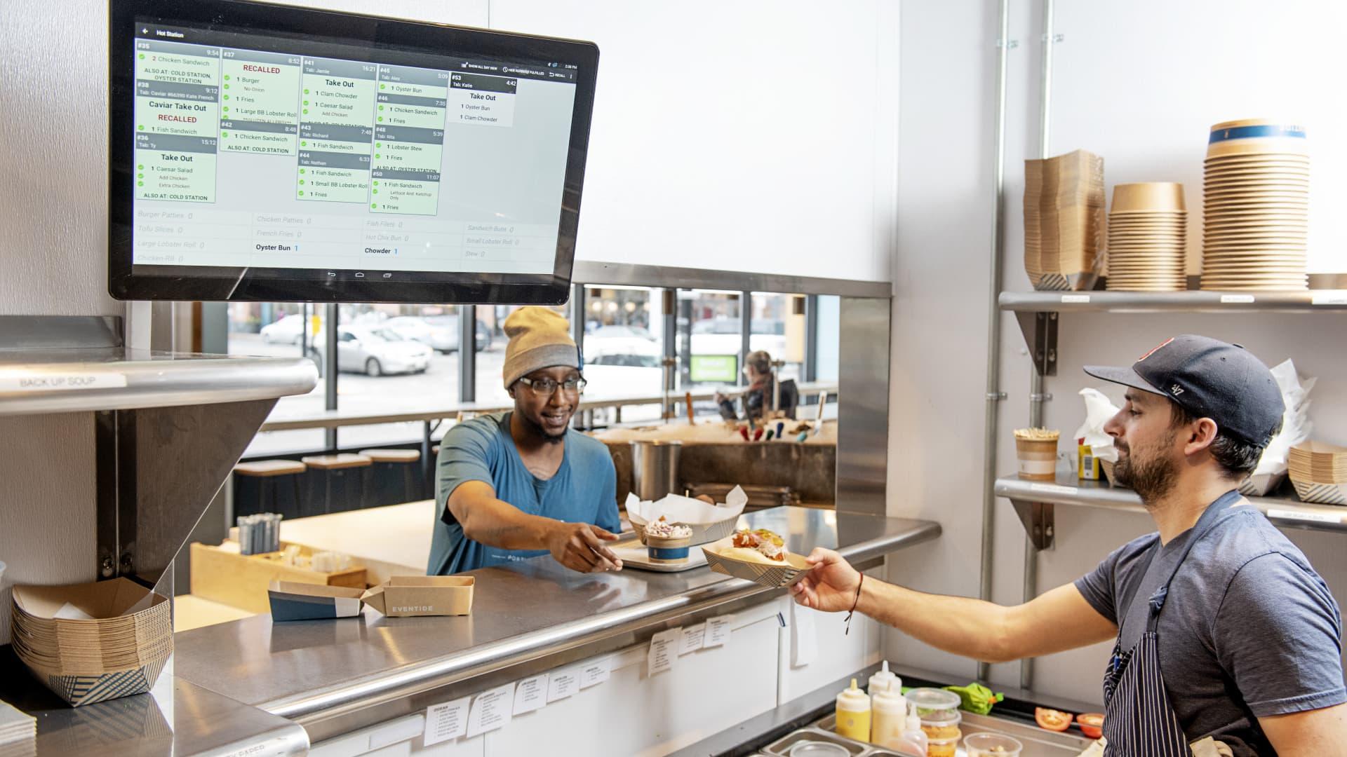 Toast's restaurant technology