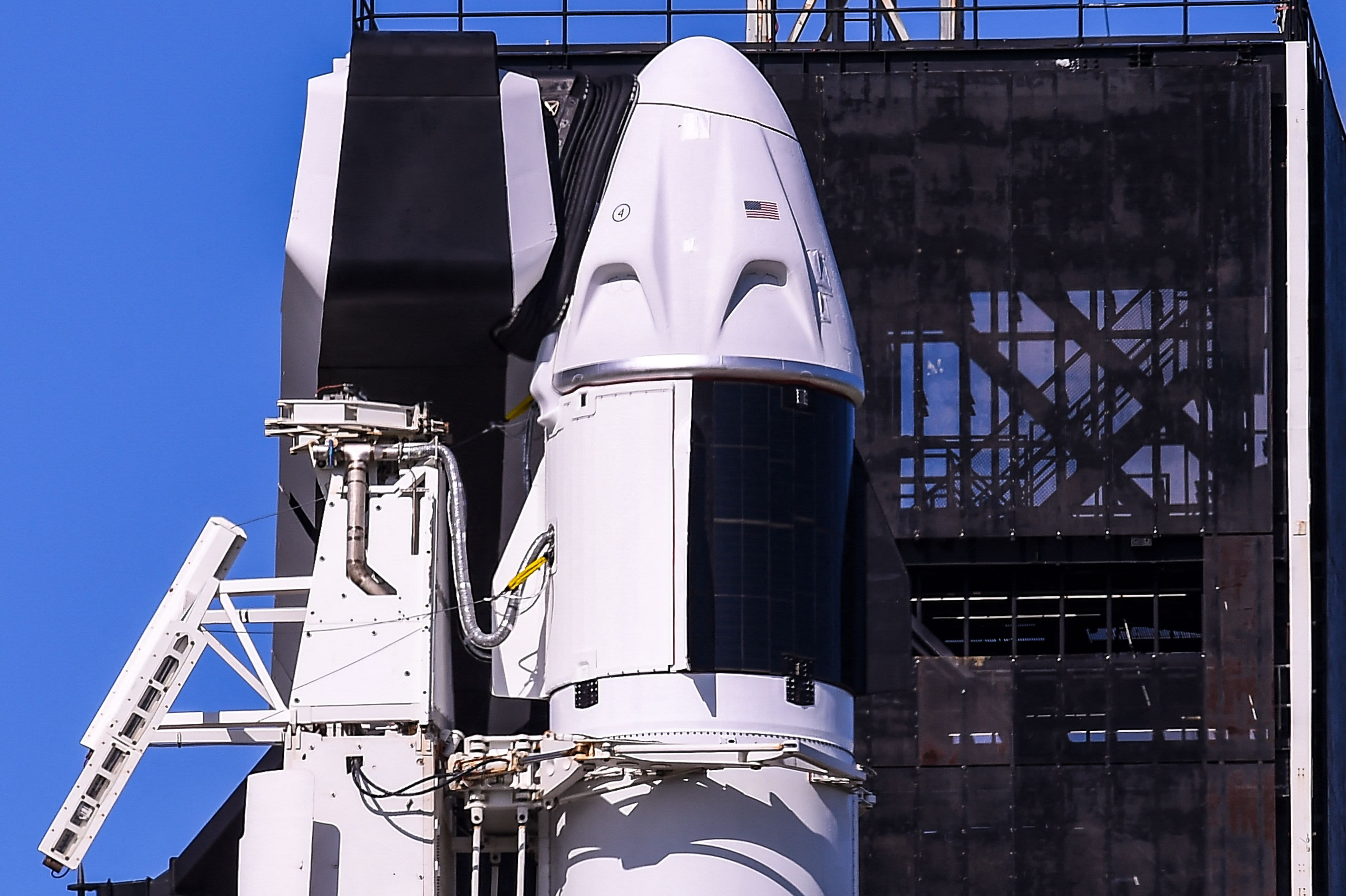 SpaceX Inspiration4 launch: Live updates as crew prepares for liftoff in four hours