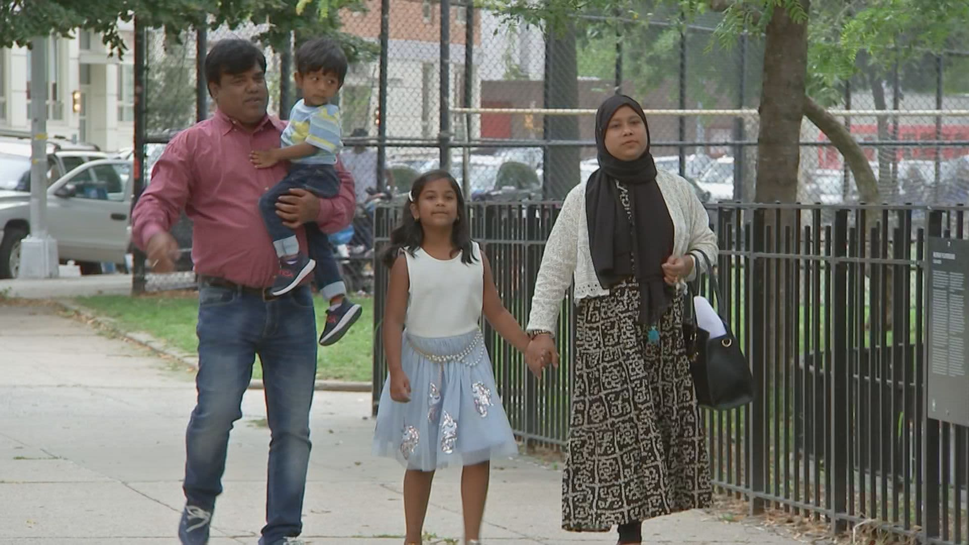 Rukiya Zaman, 7, received a $100 in a scholarship 529 college savings plan as part of a New York City pilot program aimed at closing the wealth gap. Her parents have since started saving in their own account.