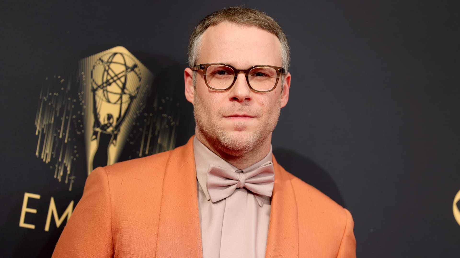 Seth Rogen attends the 73rd Primetime Emmy Awards at L.A. LIVE on September 19, 2021 in Los Angeles, California.