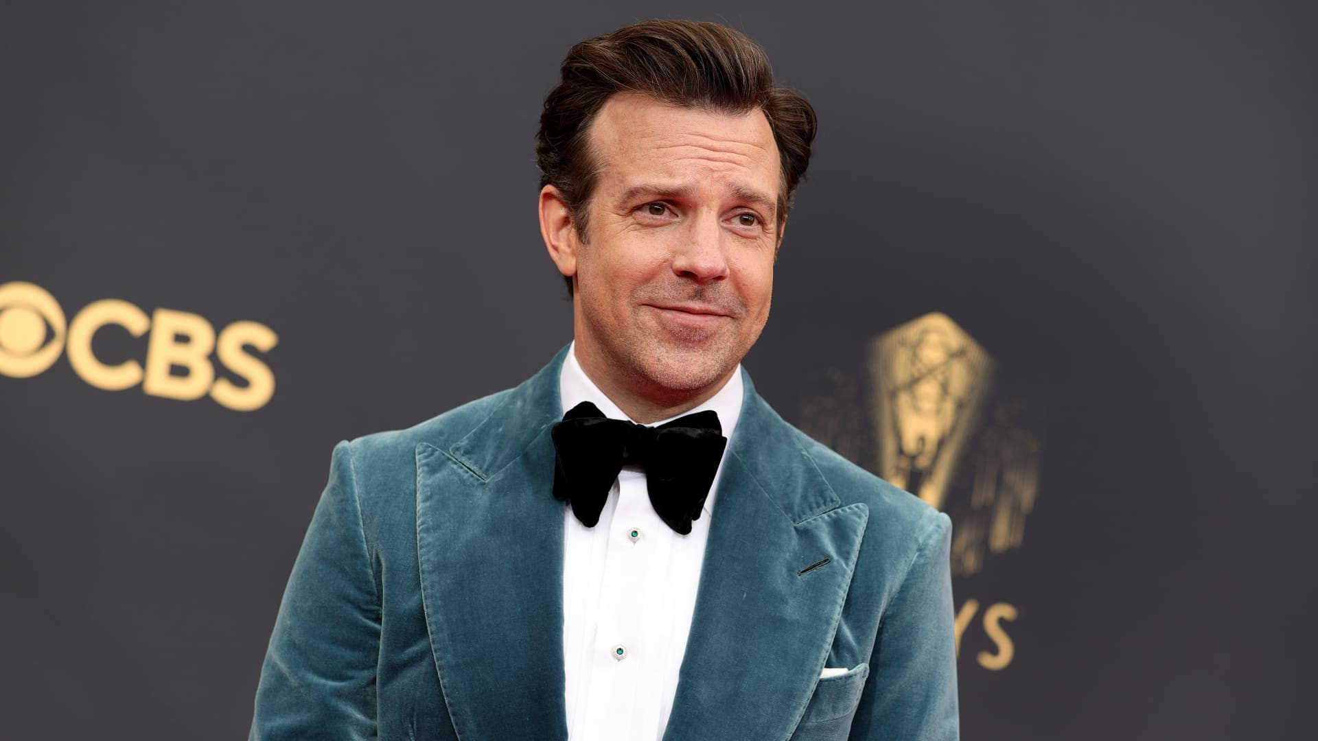 Jason Sudeikis attends the 73rd Primetime Emmy Awards at L.A. LIVE on September 19, 2021 in Los Angeles, California.
