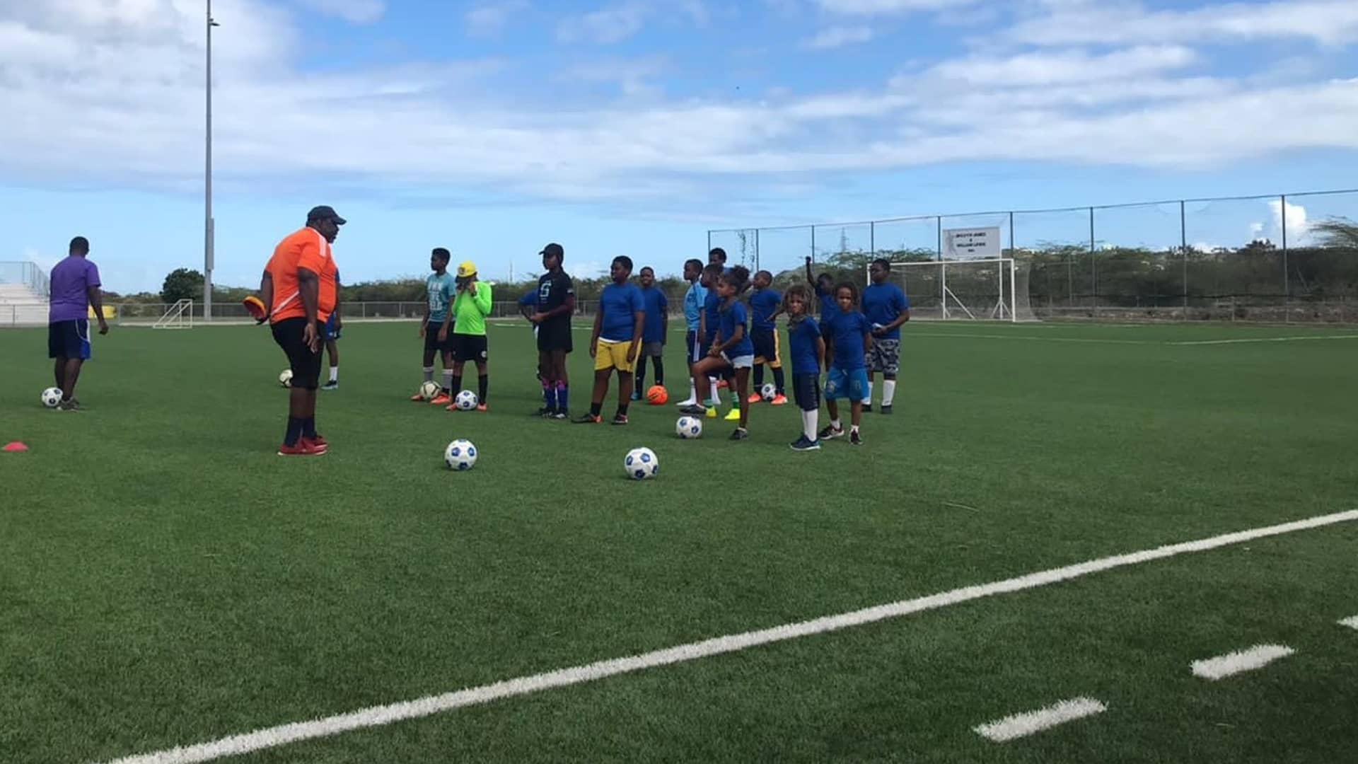 Our kids spent this summer playing soccer with Coach Nabo Samuel at Cutting Edge Foundation Summer Camp.