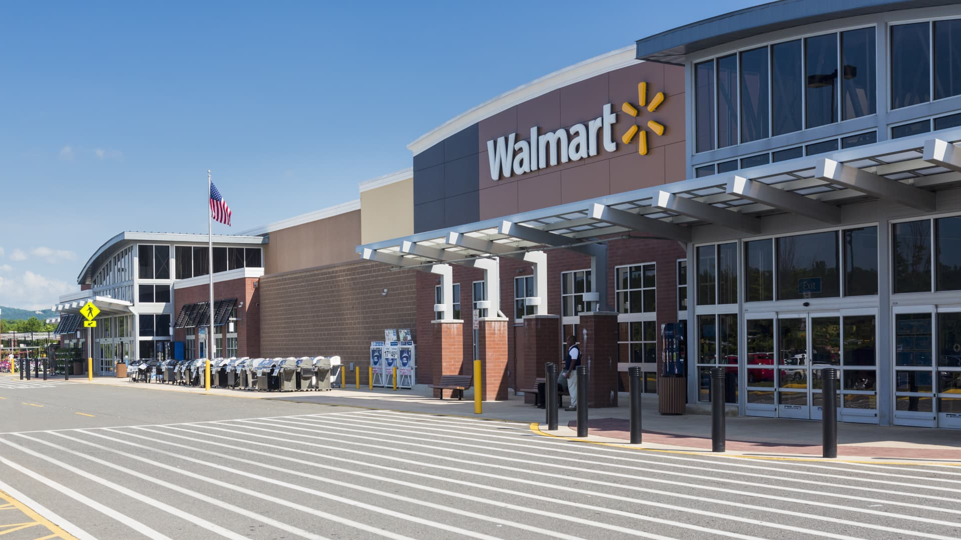 Walmart in Haymarket, Virginia, USA