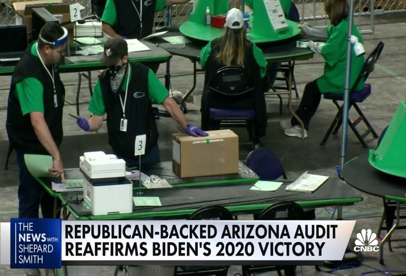 Republican-backed Arizona audit confirms Biden win