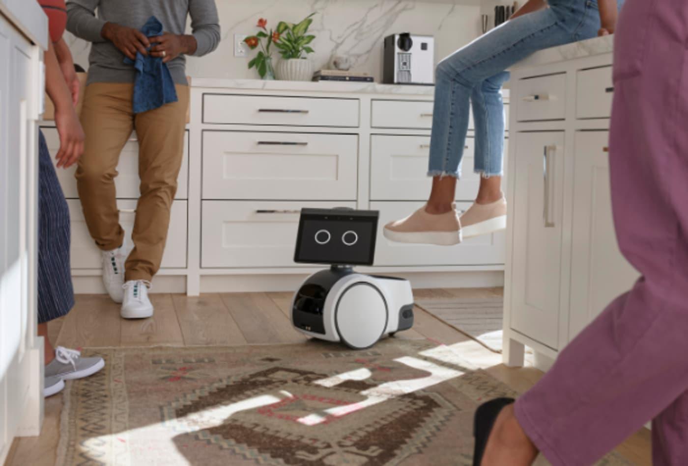 Amazon announces Astro home robot that roams around your house