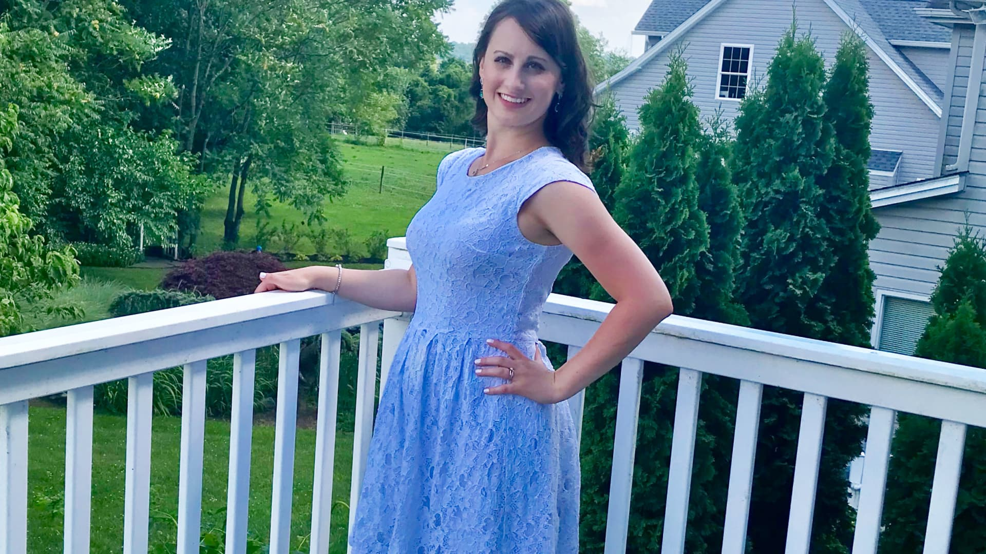 Alexandra Lashner of Bensalem, Pennsylvania, became frustrated after attempting to buy a house this year and decided to postpone homeownership.