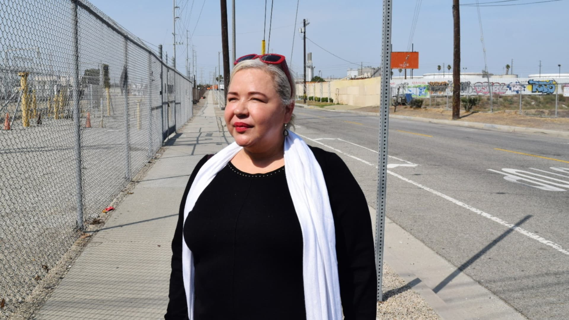Magali Sanchez-Hall, a Wilmington resident for over two decades, has struggled with asthma her entire life. She says the health issue stems from her proximity to oil and gas drilling.