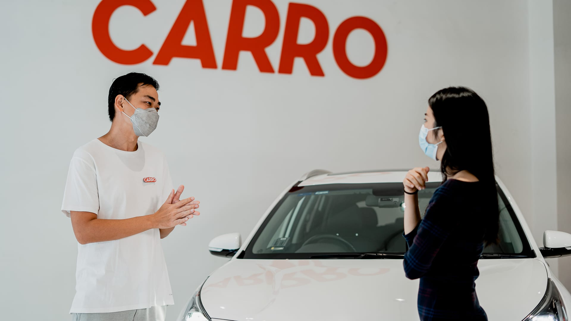 Carro says it is assisting with the transition to greener transport methods, by allowing buyers to trial new cars like electric vehicles.