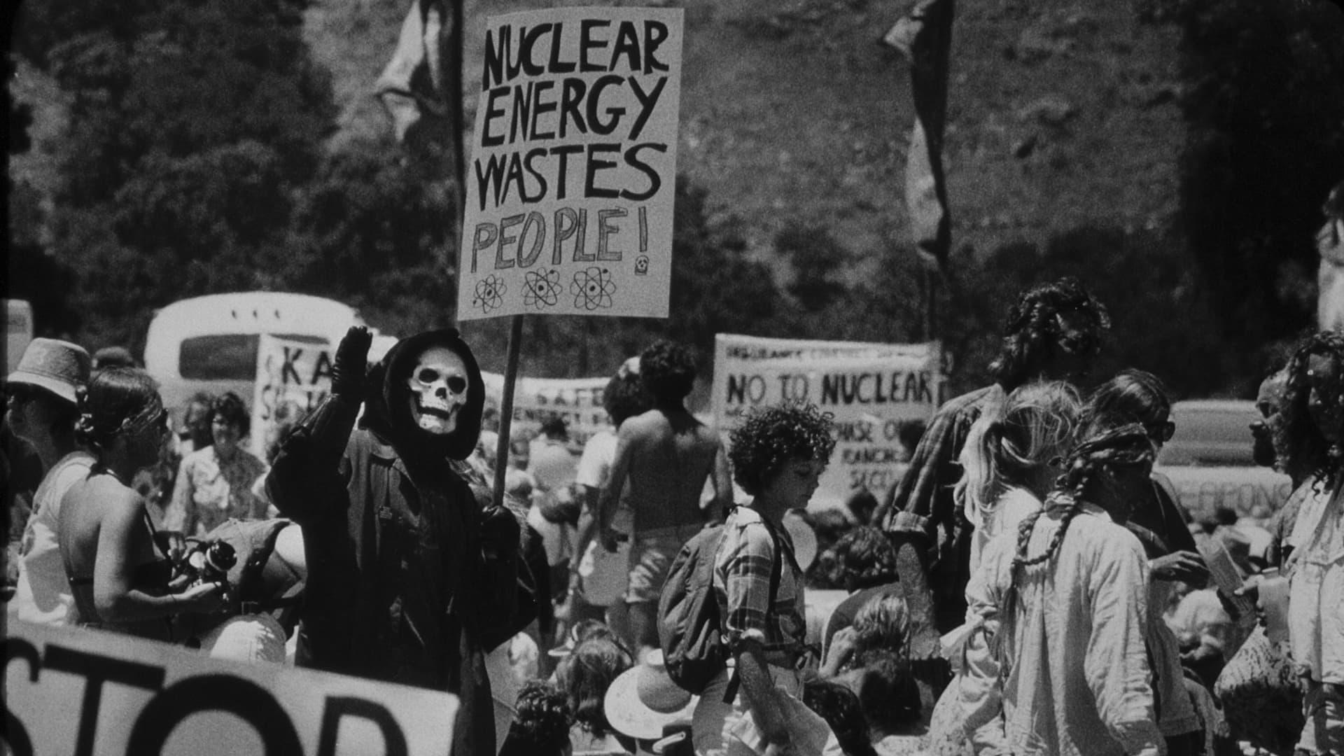 SAN LUIS OBISPO, CALIFORNIA -JUNE 30: Anti nuclear supporters at Diablo Canyon anti-nuclear protest, June 30, 1979 in San Luis Obispo, California. (Photo by Getty Images/Bob Riha, Jr.)