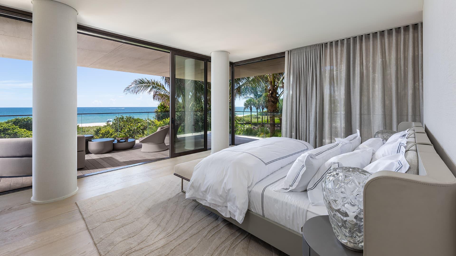 The Arte condominium in the Surfside neighborhood of Miami Beach features 16 luxury units.