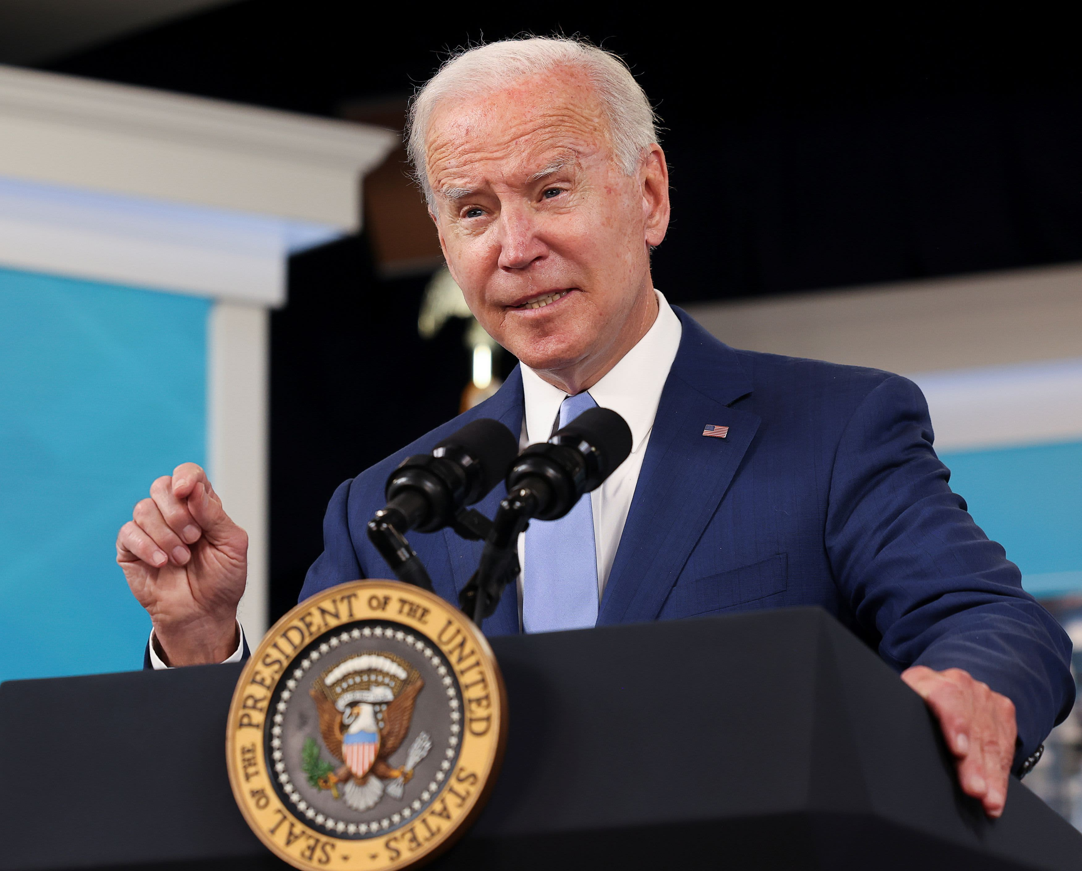 The September jobs number was a big miss, but Biden sees 'great progress' in rising wages, lower unemployment rate