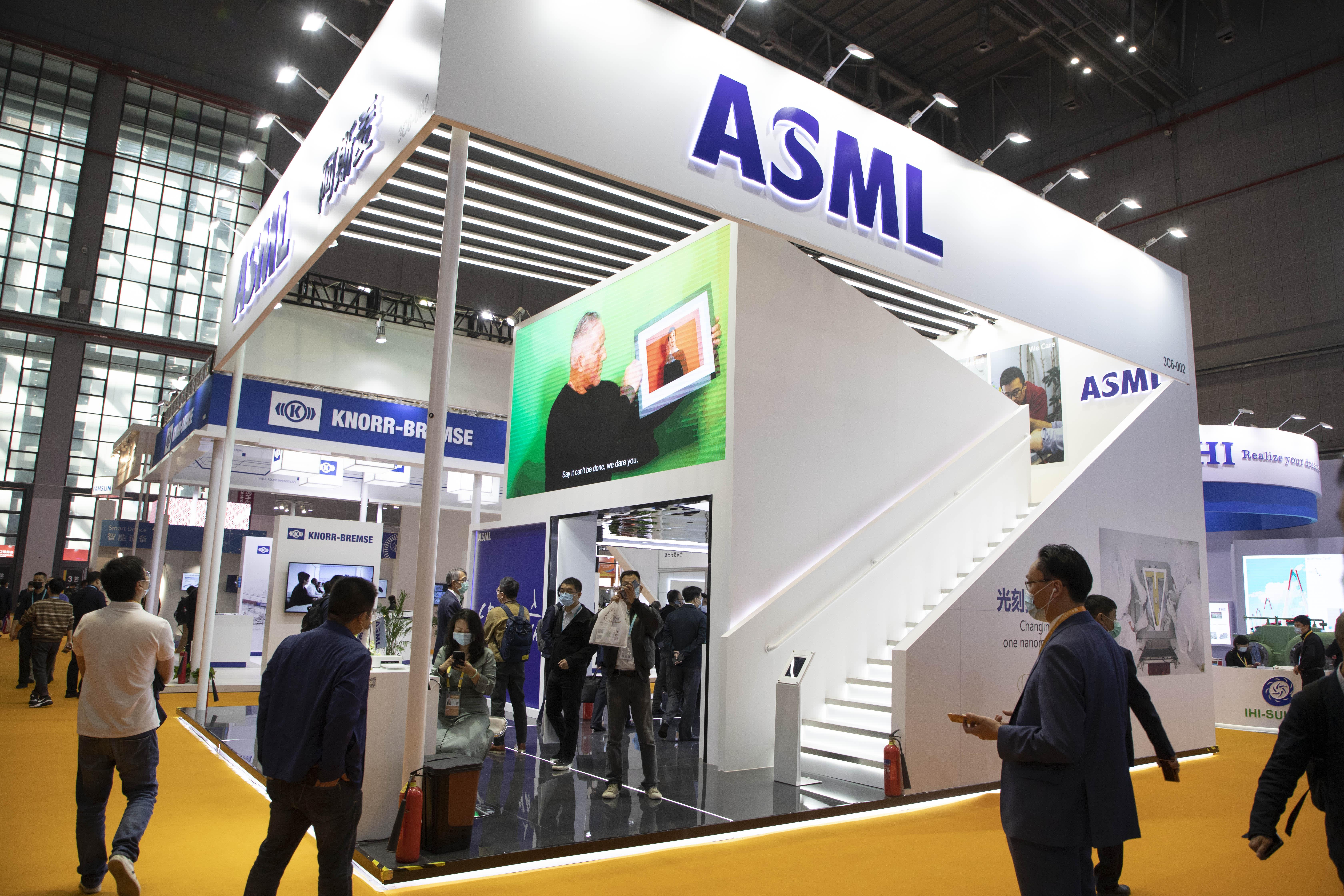 Chip machine maker ASML will grow into a $500 billion business next year, tech investors predict thumbnail