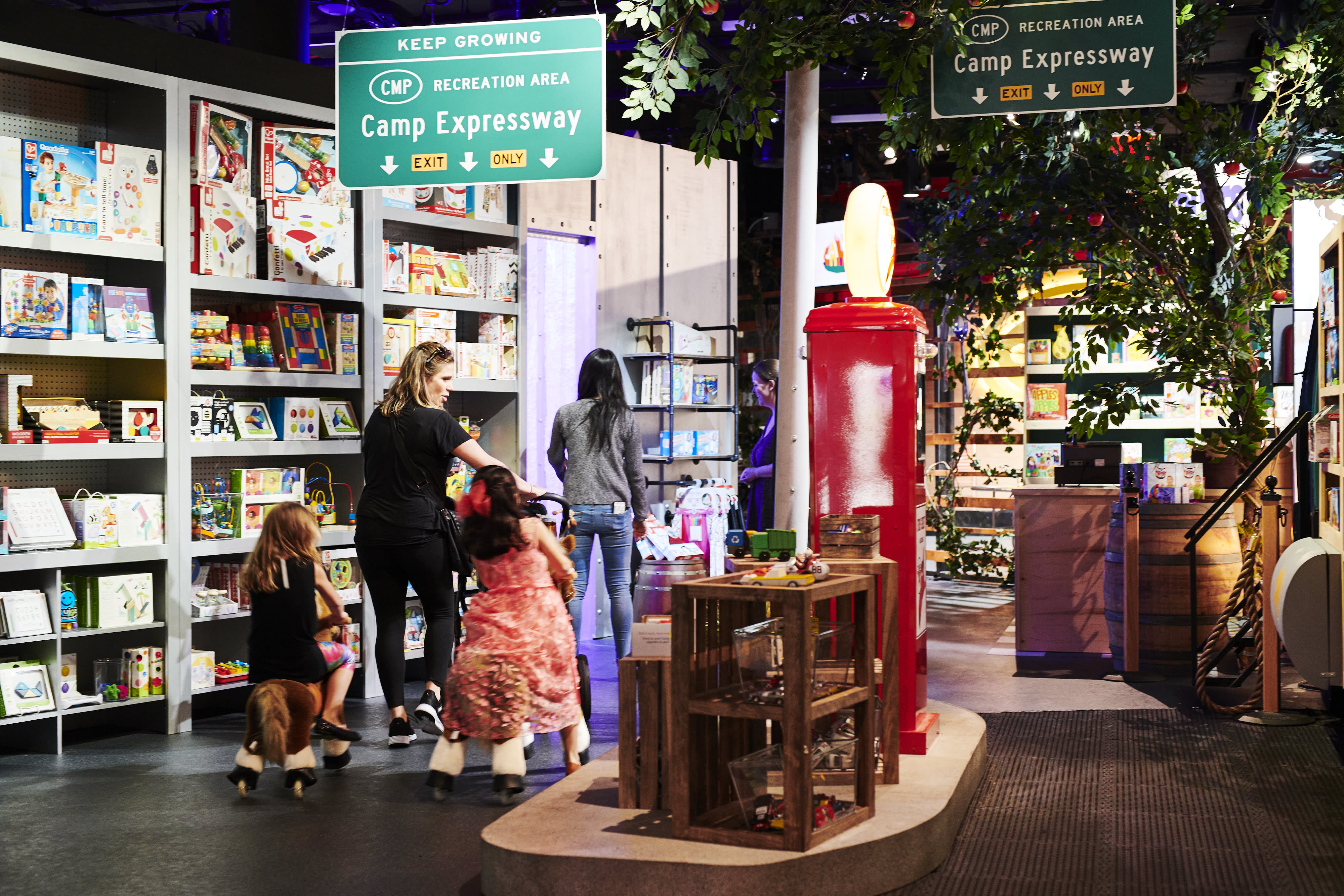 Toy retailer Camp takes over former Toys R Us store, putting experiences to the test over holidays