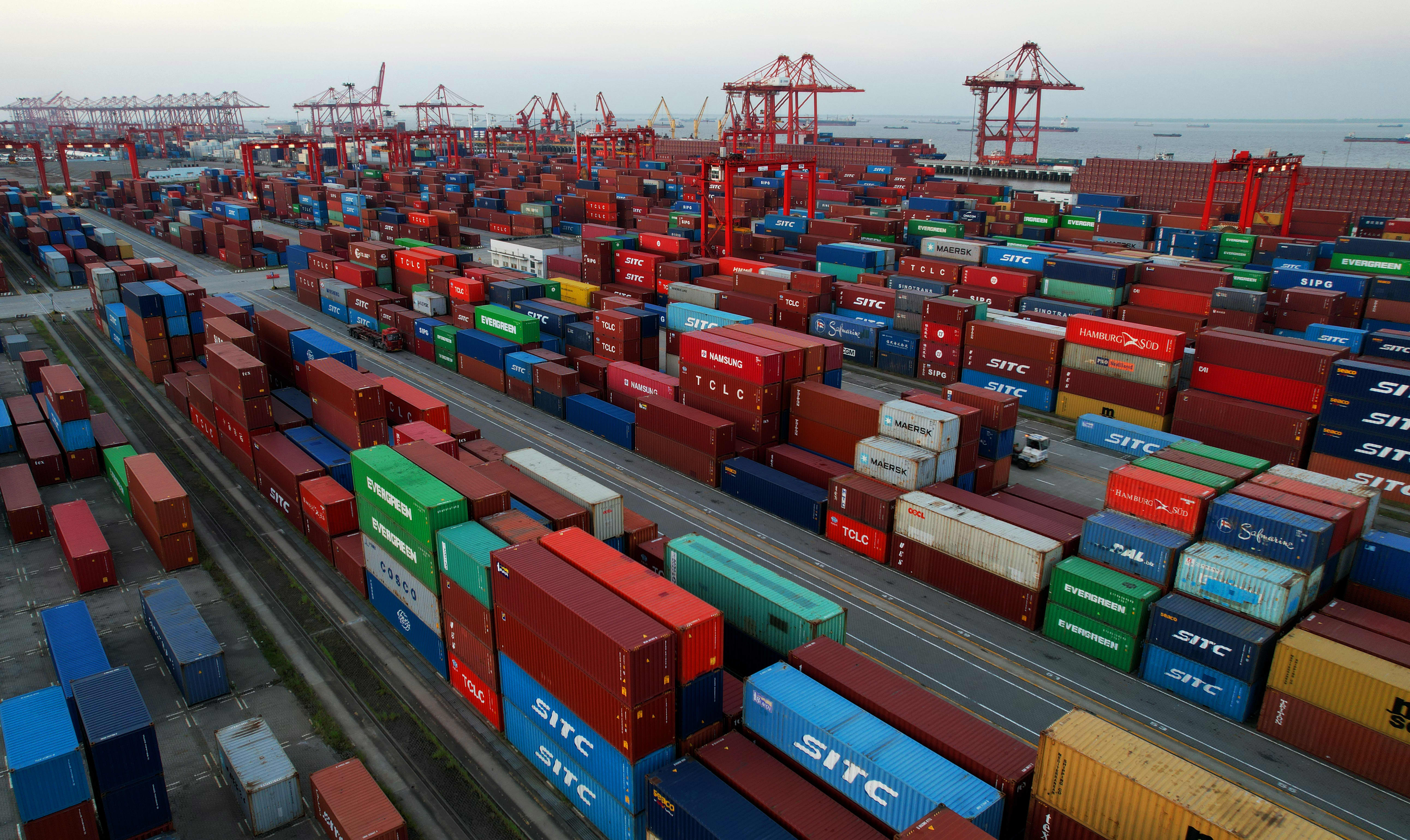 China trade surplus with the U.S. rises to monthly record in September