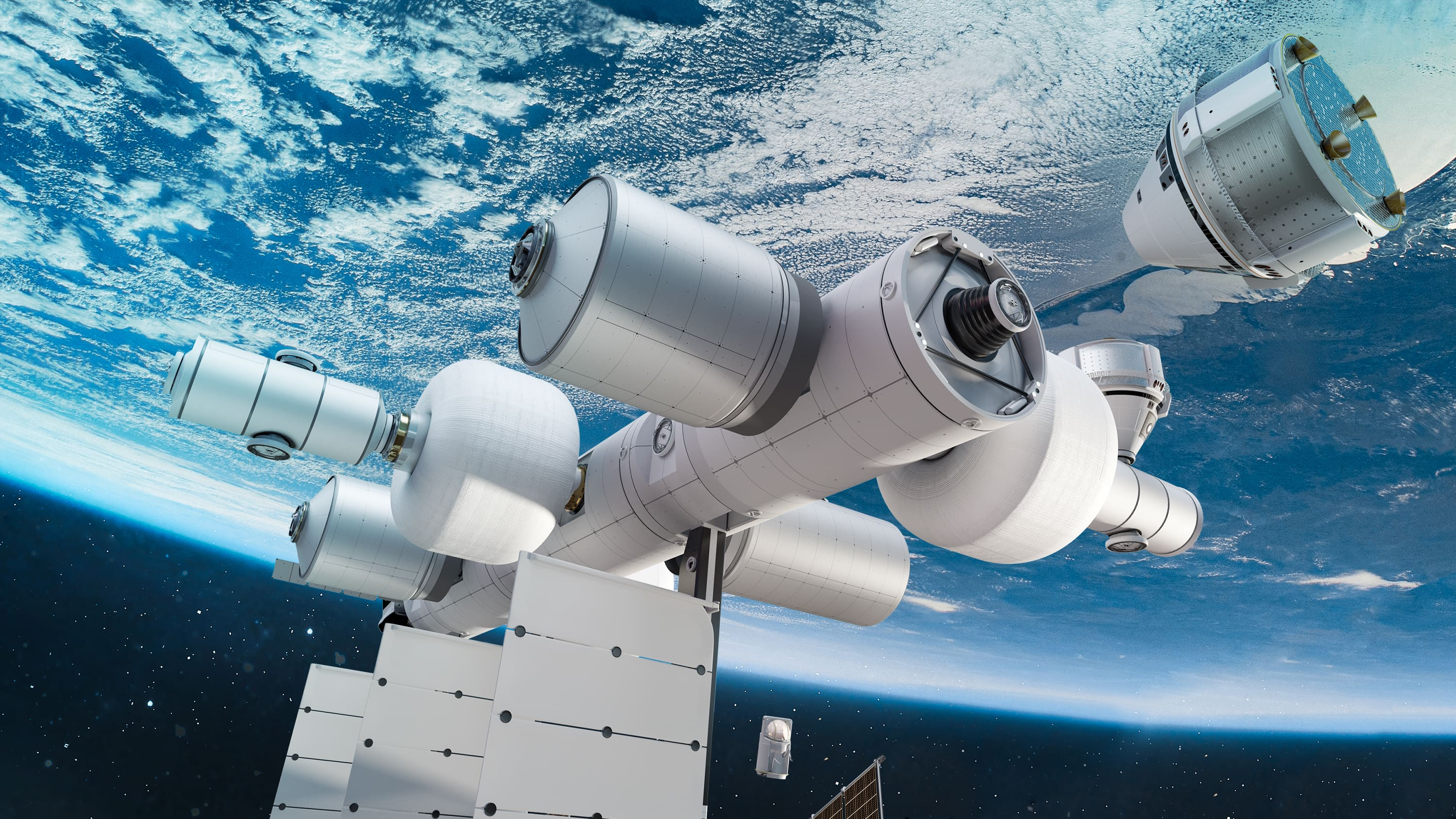 Bezos' Blue Origin unveils private space station 'business park' to be deployed later this decade