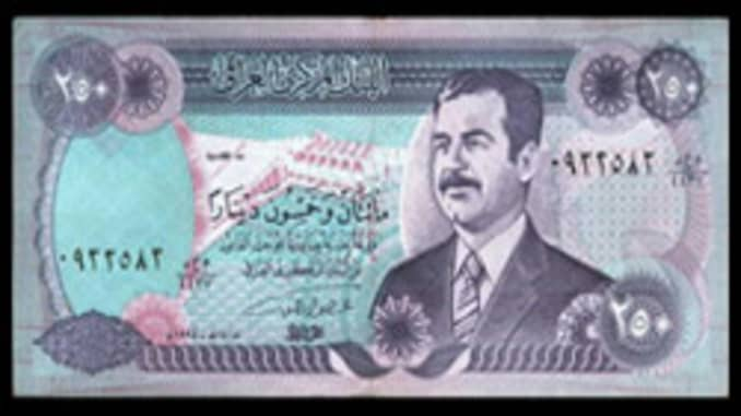 Forex Web Site Bets On Iraqi Dinar