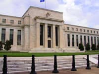 The Federal Reserve headquarters in Washington, DC.