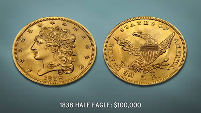 Most Expensive Rare U S  Coins