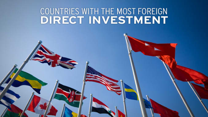 Countries with the Most Foreign Direct Investment