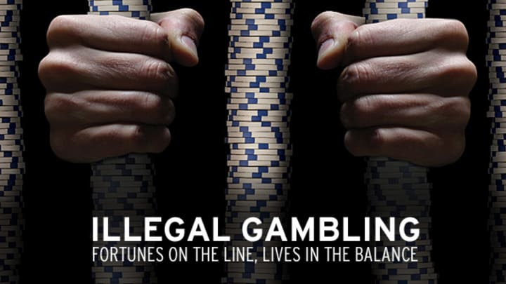 Betting on sports illegal 24 7 betting