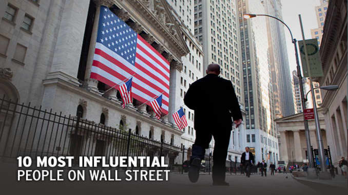 The 10 Most Influential People on Wall Street