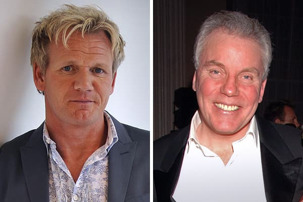 """British Chef Gordon Ramsay's personal life was splashed through the tabloids in late 2010 after a big argument with his father-in-law went public. Ramsay ended his professional relationship with Chris Hutcheson when he fired him as chief executive of his company, Gordon Ramsay Holdings, in October.Angry, Hutcheson is reported to have called Ramsay a """"monster"""" who tried to turn his daughter, Tana, against him. Ramsay followed up with a public letter condemning Hutcheson, calling him a """"dictator."""""""