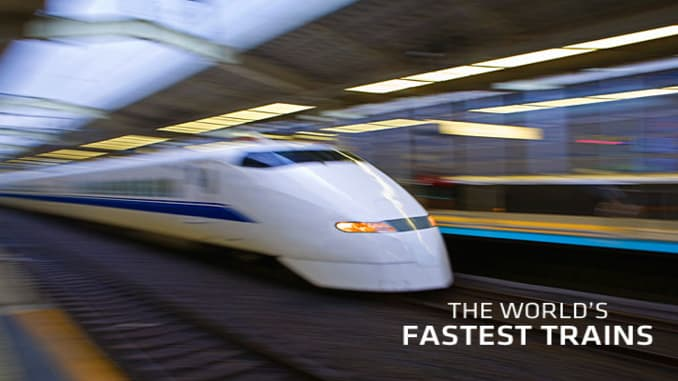 Countries With the Fastest Passenger Trains