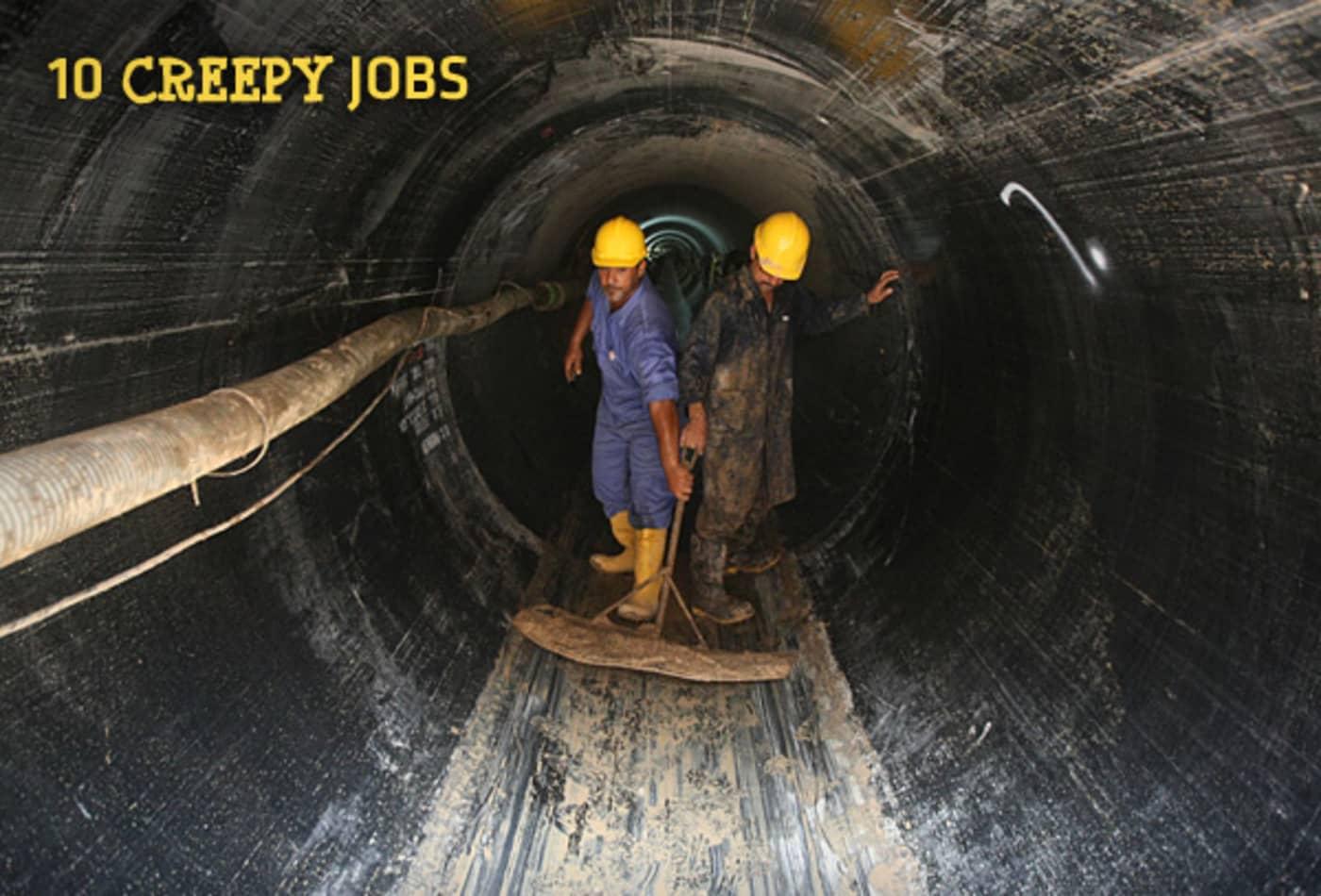 10 Creepy Jobs