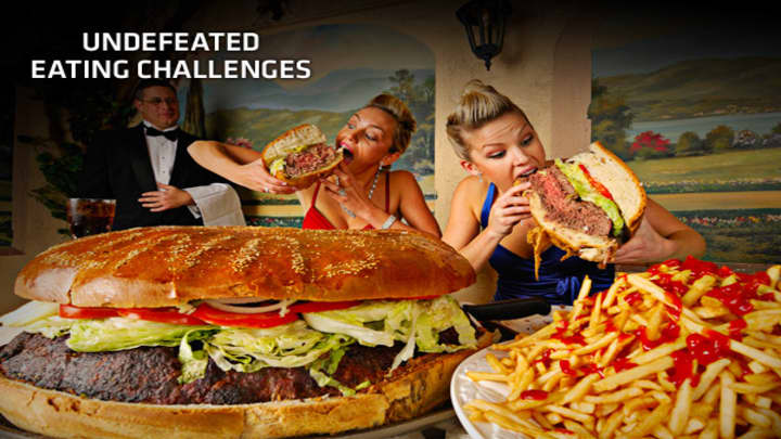 5 Undefeated Eating Challenges