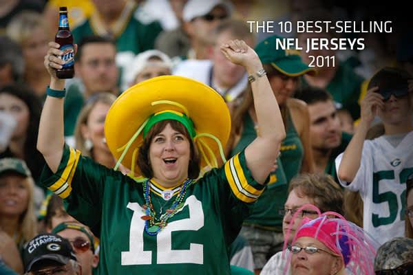 The 10 Best-Selling NFL Jerseys 2011