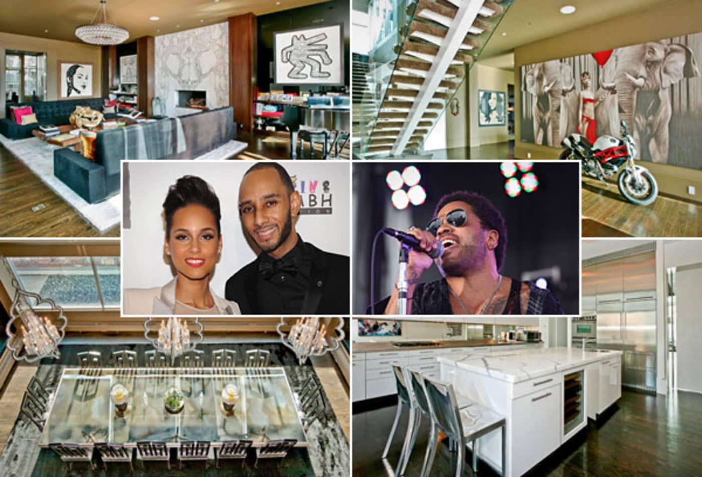 Alicia-Keys-Swizz-Beats-Lenny-Kravitz-Rock-Star-Homes.jpg