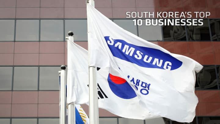 South Korea S 10 Gest Companies
